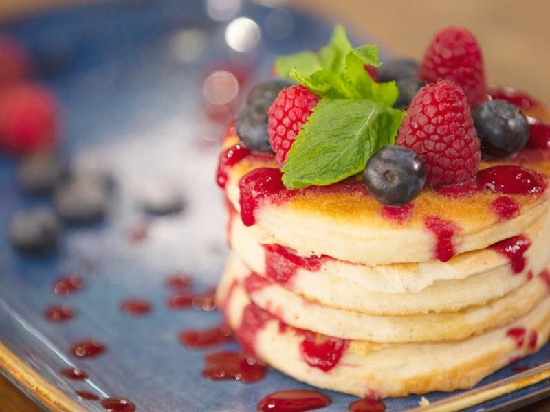 Mixed Berry Pancake