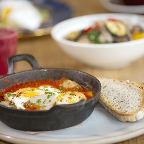 Shakshuka With Other Dishes