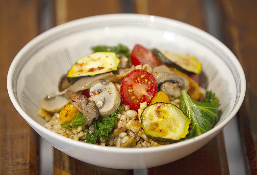 Veg and Barley Salad